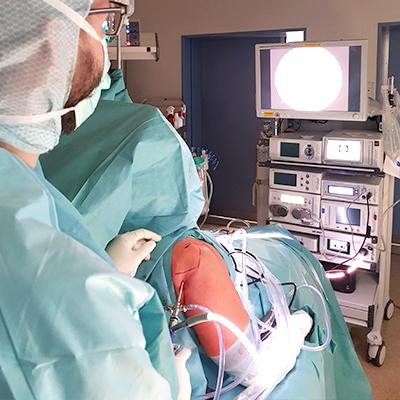 Schulter-Arthroskopie